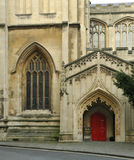 Stephens Church, Porch and door. Porch and door, St. Stephens Church, Bristol City Centre Royalty Free Stock Photography
