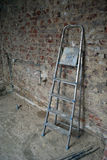 Stepladder at construction site Royalty Free Stock Images