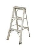 Stepladder di alluminio Fotografia Stock