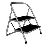 Stepladder isolated - 3D render Royalty Free Stock Photography