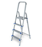 Stepladder isolated on white background Stock Image