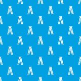 Stepladder pattern seamless blue Royalty Free Stock Photo