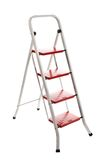Stepladder on a white background Stock Images
