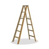 Stepladders - imposti per il vostro disegno Fotografie Stock