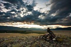 Steppa Russia di Kuray Fotografia Stock Libera da Diritti