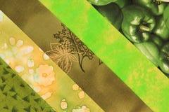 Steppdecke Block-grün Lizenzfreies Stockbild