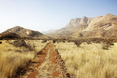 Steppe Erongo Mountains Royalty Free Stock Photos