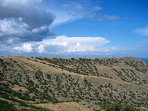 Steppe Royalty Free Stock Images