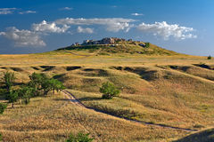Steppe hill. Royalty Free Stock Photos