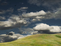 Steppe hills Stock Photo