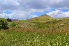 Steppe hills Stock Image