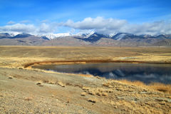 Steppe lake Royalty Free Stock Photography