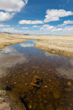 Steppe river Royalty Free Stock Photo