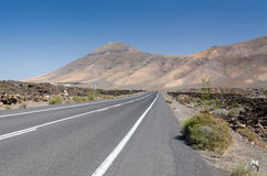 Steppe road Royalty Free Stock Images