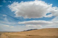 Steppe sauvage mongole photo stock