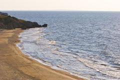 Steppe and sea Royalty Free Stock Photos