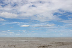 Steppe. In Siberian - desert in Omsk, lake dead Royalty Free Stock Photo