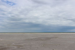 Steppe. Therapeutic mud about salt (Dead) Lake in the Omsk region - Ebeyty Stock Photography