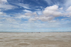 Steppe. Therapeutic mud about salt (Dead) Lake in the Omsk region - Ebeyty Stock Images