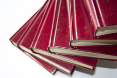 Stepped books Stock Photography