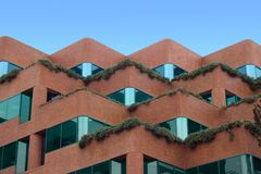 Stepped Building Royalty Free Stock Photos