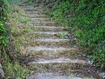 Stepped Pathway, Greece Royalty Free Stock Image