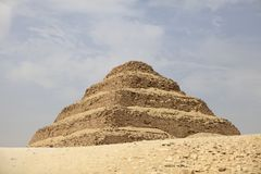 Stepped Pyramid - Saqqara, Egypt Royalty Free Stock Image