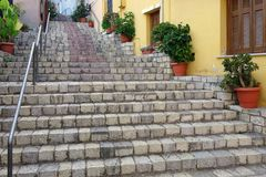 Stepped Stone Footpath Royalty Free Stock Photos