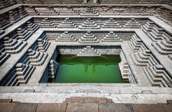 Stepped Tank In Hampi Royalty Free Stock Photography