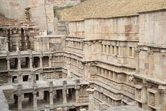 Stepped water well of Patan Royalty Free Stock Image