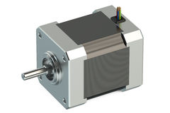 Stepper motor Stock Image