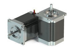 Stepper motors Stock Images