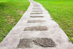Stepping Stone Path royalty free stock images