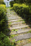 Stepping stone path Royalty Free Stock Photos