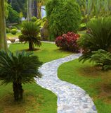 Stepping stone path Royalty Free Stock Photography