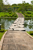 Stepping Stone Pathway Royalty Free Stock Photography