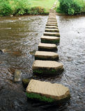 Stepping stones Royalty Free Stock Photos