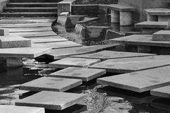 Stepping Stones. Andy Livingstone Park, Vancouver BC Canada Stock Photo