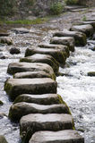 Stepping stones. Part of a path through the Yorkshire Dales, England Royalty Free Stock Photography