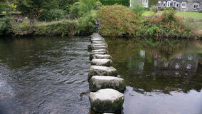 Stepping Stones Stock Photo