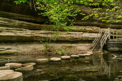 Stepping stones. Royalty Free Stock Image