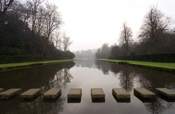 Free Stepping Stones At Fountains Abbey In North Yorksh Stock Images - 4203324