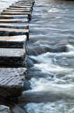 Stepping Stones - Lealholm - North Yorkshire - UK Stock Image