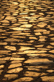 Stepping Stones in Setting Sun Royalty Free Stock Photography