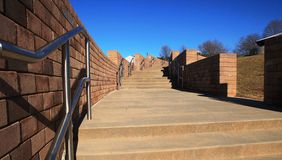 Outdoor Stairs and Walkway Stock Photo