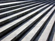 Steps. Stone steps vanishing into the distance Royalty Free Stock Photos