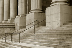 Steps. With bar royalty free stock photography