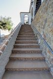 Steps. Leading up to a property Royalty Free Stock Photo