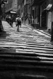 Steps. Taken in SoHo, Hong Kong Royalty Free Stock Images