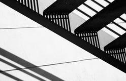 Steps. A bold, angular geometric abstract Stock Photo
